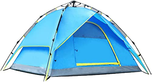 YHSFC Double Couche Tente Anti-Pluie Pluie Camping épaississement crème Solaire UV de Voyage randonnée Portable Wigwam