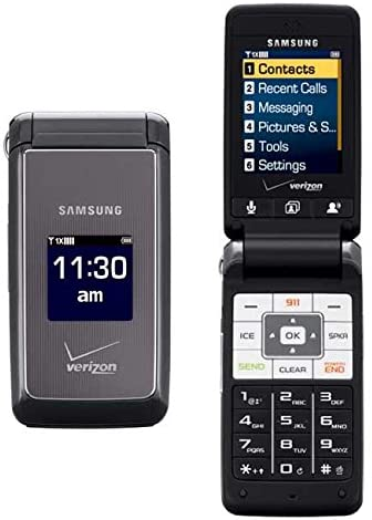 Very popular Verizon or PagePlus amsung Haven U320 Factory outlet Grey Phone Dark Cell CDMA