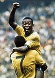 Pele Brazil Foto-Nachdruck 40x30cm