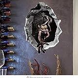 Halloween 3D Pegatinas De Pared Habitación De Terror Decoración...