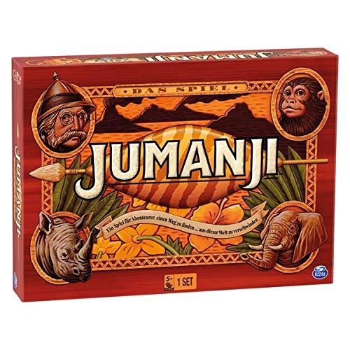 Jumanji el juego – Un juego de sociedad y juego familiar para aventureros de edición alemana.