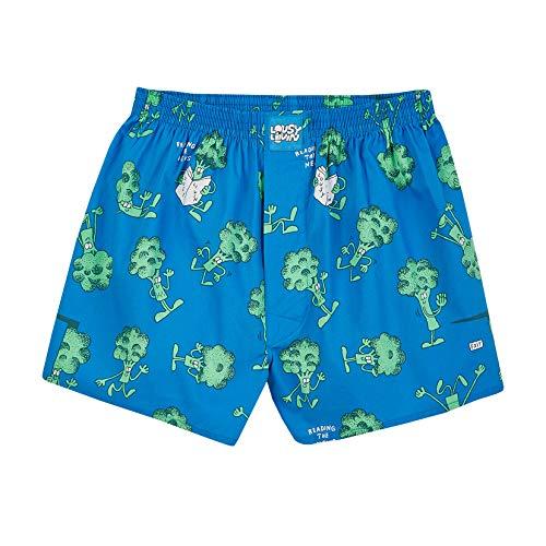 Lousy Livin Boxershorts Broccoli (Directoire Blue) S