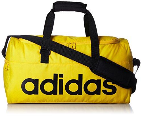 Adidas Lin Per Tb S Borsa Sportiva, Giallo (Eqtama/Eqtama/Nero), S