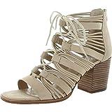 Vince Camuto Womens Kaiann Nubuck Caged Dress Sandals Taupe 7 Medium (B,M)
