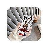 Qleiかわいい落書きアートパターン電話ケースfor iPhone 11プロマックスXR XSマックスX 7 8プラス6 6 sカバー面白い漫画透明ソフトケース-style 02-for iPhoneXSmax