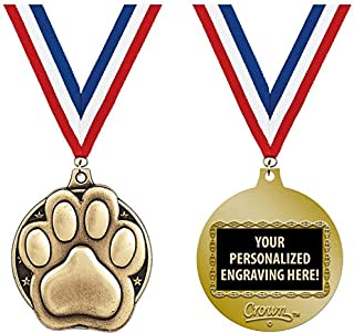 Paw Print Medals, 2