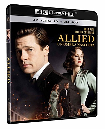 Allied: Un'Ombra Nascosta (4K Ultra HD + Blu-Ray) [Blu-ray]