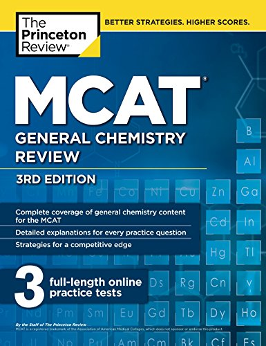 MCAT General Chemistry Review, 3rd Edition (Graduate School Test Preparation)
