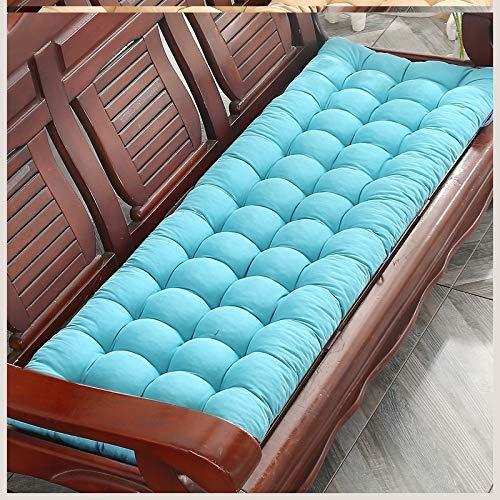 Soft Bench Pad Mat, Garden Chair Seat Pad, Outdoor Zitkussen Kussen Draagbaar 2 3-zits Stoel Pad Zonnebank Lounge Kussen Matras, Antislip,E,48 * 160cm