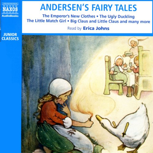 Andersen's Fairy Tales audiobook cover art