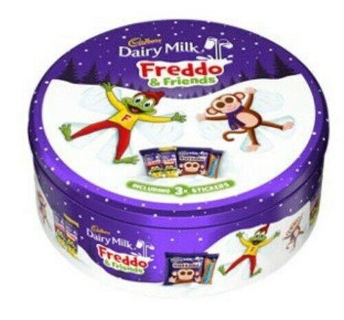 Latte al latte Cadbury Freddo & Friends Tubetto di cioccolato 420g