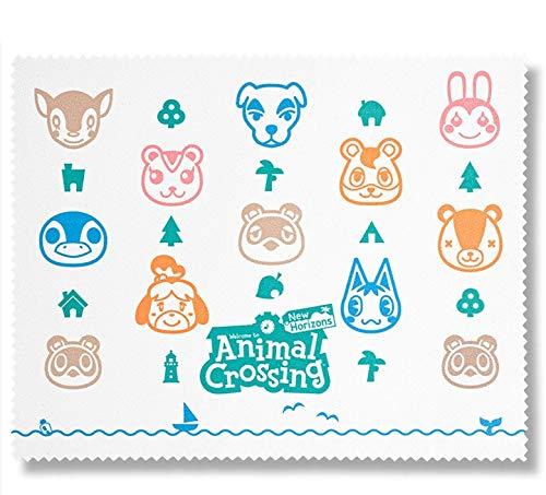 Animal Crossing Microfibre Cloth (Exclusive to Amazon.co.UK) (Nintendo Switch)