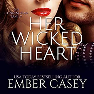 Her Wicked Heart: The Cunningham Family, Book 3 audiobook cover art