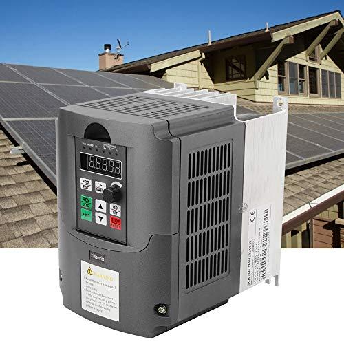 Wechselrichter mit variabler Frequenz, Solar-Wechselrichter mit variabler Frequenz DC400-700V Eingang 3-phasig 0-380VAC Ausgang 0-650Hz 4KW zum Ersetzen von Photovoltaik-Wechselrichtern