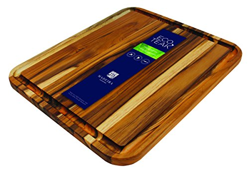 "Madeira B-05 X-Large Eco-Teak Cutting and Carving Board, 15"" x 17.75\"""