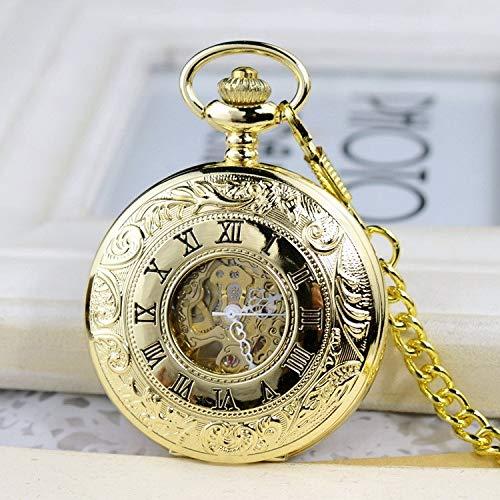 Hohle mechanische Uhr-Art- und Weisetaschenuhr kennzeichnet römische Hohle Taschenuhr
