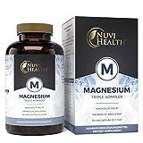 Nuvi Health® Magnesium Komplex - 240 Kapseln - 2250 mg