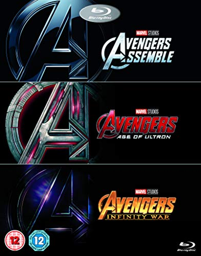 Avengers Collection (1-3 Box-set) [Blu-ray]