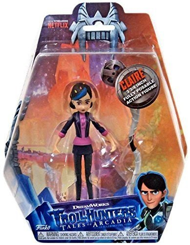 Figura Trollhunters Clair Exclusive