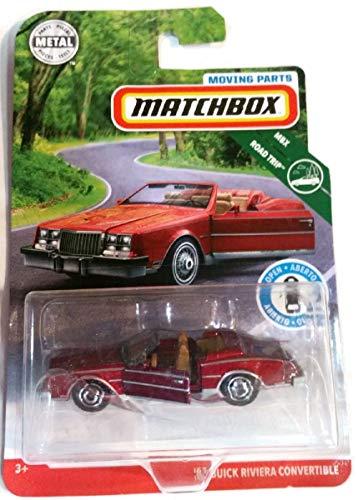 Matchbox 2019 Mbx Road Trip - '83 Riviera Convertible - Moving Parts