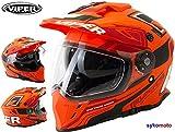 Viper rx-v288Dual deporte doble visera Enduro casco
