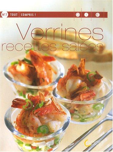 Verrines, recettes salées
