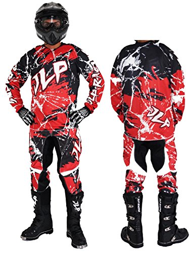 Traje Niños 5–6Años Moto Cross Quad Montaña BMX MTB Pantalón Guantes Maillot...