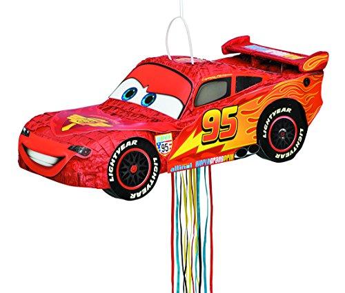 Unique Party Supplies Piñata Cars Jeu Mexicain pour fête d'Enfant, Anniversaire, décoration