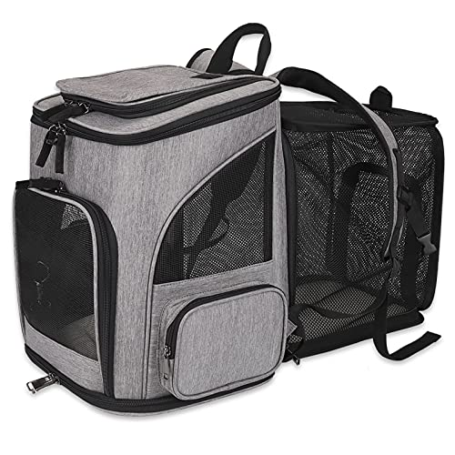 HALOVIE Pet Carrier Backpack Expand…