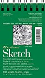 Strathmore 400 Series Recycled Sketch Pad, 3.5'x5' Wire Bound, 100 Sheets