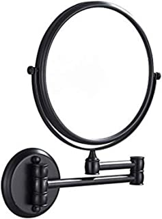 Makeup Mirror LED Illuminating Magnifying Glass Double-Sided Rotating 3 Times Magnifying Adjustable Vanity Makeup Mirror
