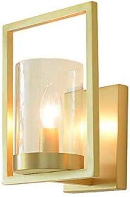 Oaks Lighting Fern Wall Light With Clear Glass Panels Antique Brass Finish Amazon Co Uk Lighting