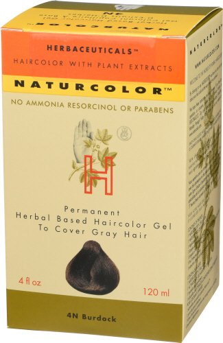Naturcolor 4N Burdock Hair Dyes, 4 Ounce