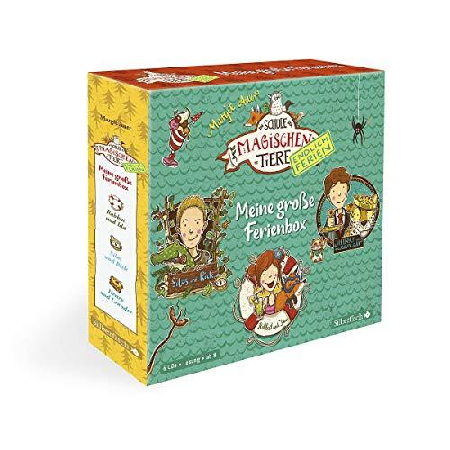 Die Schule der magischen Tiere - Endlich Ferien: Meine große Ferienbox: »Rabbat und Ida«, »Silas und Rick«, »Henry und Leander«: 6 CDs
