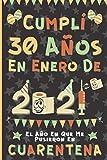 Cumplí 30 Años En Enero De 2021: El Año En Que Me Pusieron En Cuarentena | Regalo de cumpleaños de 30 años para hombres y mujeres, 30 años cumpleaños ... rayadas), cumpleaños confinamiento 2021