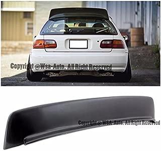 Extreme Online Store EOS Body Kit Rear Wing Spoiler - for Honda Civic 3 Door Hatchback EG 92-95 1992 1993 1994 1995