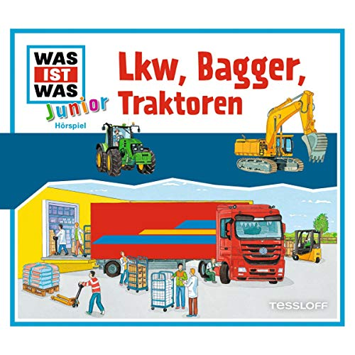 Lkw, Bagger, Traktoren Titelbild