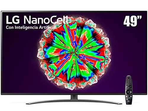 LG NanoCell TV AI ThinQ 4K 49' 49NANO81UNA