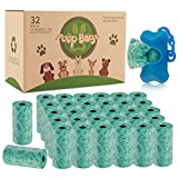 Bolsas para Excrementos de Perro con Dispensador,32 Rollos(640...