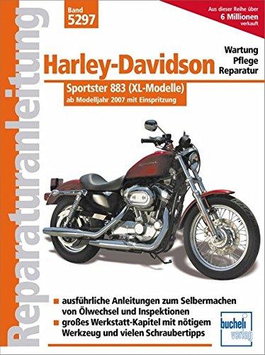 Harley Davidson Sportster 883: mit Einspritzung ab Modelljahr 2007: Einspritzer und Zahnriemen ab Modelljahr 2007 (Reparaturanleitungen)