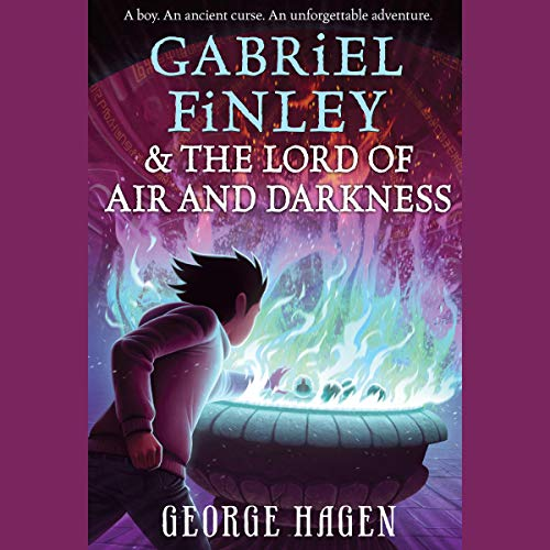 Couverture de Gabriel Finley and the Lord of Air and Darkness