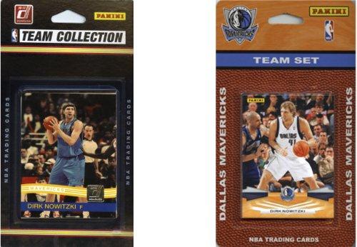 C & I Collectables NBA Dallas Mavericks 2Verschiedene lizenzierte Trading Card Team Sets