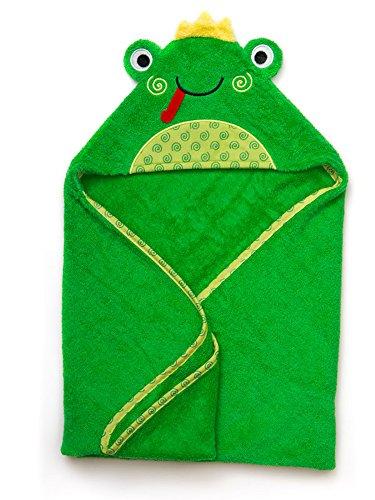 Zoocchini toalla de baño bebé Diseño Flippy la rana