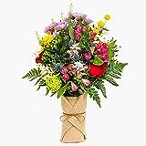 Ramo de flores naturales a domicilio variado Haifa Style - Flores frescas - Envío a domicilio 24h GRATIS - Tarjeta dedicatoria incluida - Caja especial para ramos de flores naturales.