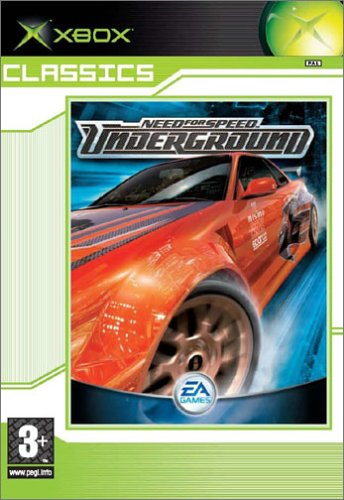 Need For Speed Underground - Classics [Xbox] [Importado de Francia]