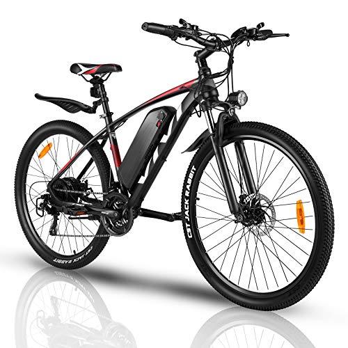 VIVI Vélo Électrique Adulte Vélo de Montagne 27,5 Pouces avec Moteur 250W, Batterie 36V/10.4Ah Amovible/Engrenages 21 Vitesses...