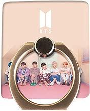 Opopark Kpop BTS Phone Stand Holder Bangtan Boys Finger Ring Grip Universal 360°(H01)