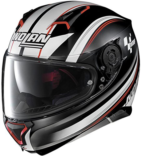 Nolan N870003120611, Motorradhelm, N-COM FLAT, schwarz, L