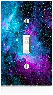 Nebula Galaxy Design Print Image Light Switch Plate