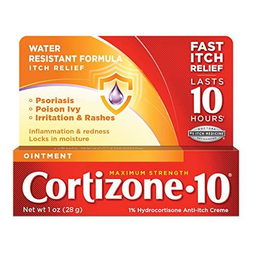 Cortizone 10 Maximum Strength Anti Itch Ointment, 6.4 1 Ounce